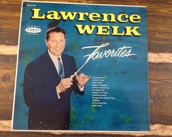 Lawrence Welk Favorites Vintage Vinyl Record LP 1958