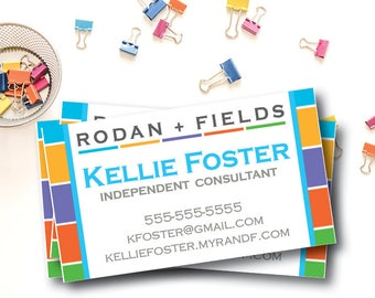 Rodan Fields Logo Etsy - Rodan and fields business card template