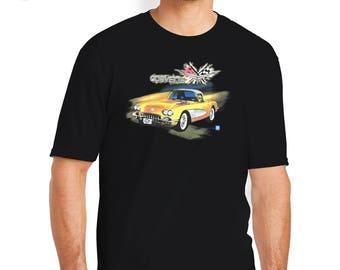 Classic Corvette T-Shirt, Classic Corvette Shirt, Classic Corvette, Corvette T-Shirt, Corvette Shirt, Corvette, Chevy Corvette,Chevy T-Shirt
