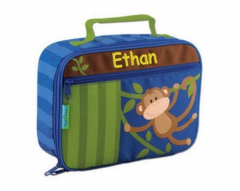 Personalized Classic Monkey Around Lunch Box