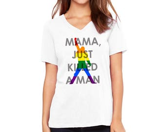 Freddie Mercury, Lesbian Pride Shirt, LGBT Pride Tees, LJ #69
