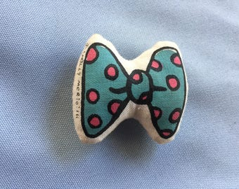 Doll Bow Tie,Tiny Bow Tie,MInature Bow Tie,Bow Tie Pin,Plush Bow Tie,Mini Bow Tie,Doll Clothes,
