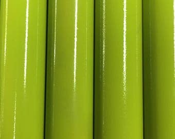 Wind chimes in Citrus Green