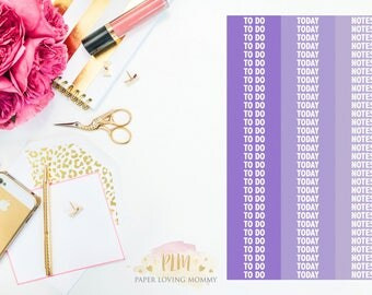 93 Custom Header April Stickers   Planner Stickers   Planner Stickers designed for use with the Erin Condren Life Planner