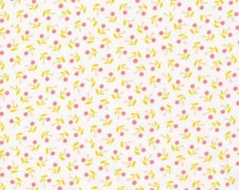 1yd. Ditsy   Pink ((pre-cut)) Cloud 9 100% Organic Cotton Knit Fabric