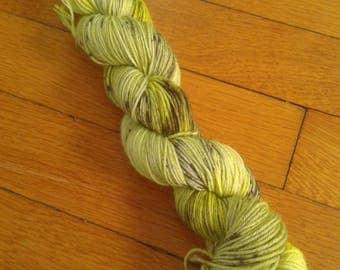 Bug Eyes   -  50 gram skein, 75/25 sock yarn,