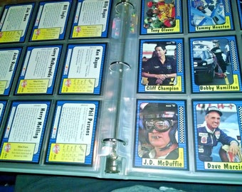 1991 Maxx Race Card Set of 240 Cards. In Binder mint.