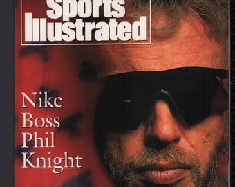 Vintage Magazine - Sports Illustrated : August 16 1993 - Phil Knight