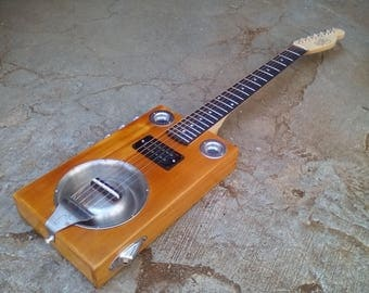 "Dobro Cigar Box Guitar ""La Cantina"""