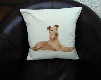 Irish Terrier Cushion