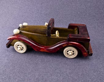 Childrens Car Wooden car Toy car Wood car model Vehicles Handmade wooden toys Educational Christmas gift Birthday August birthday Gift ideas