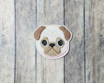 Pug YTD Felties- (set of 4) UN-CUT