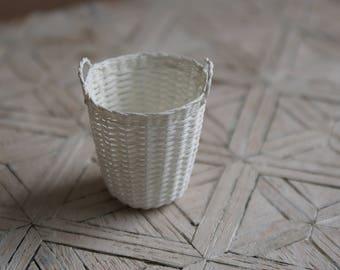 A miniature basket