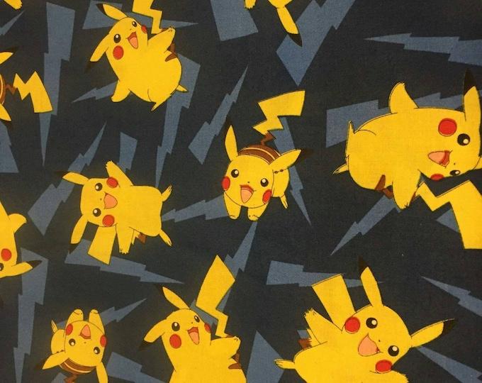 Pokemon Cotton Fabric by the Yard