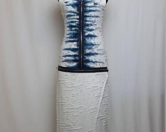 Casual Sleeveless Summer Maxi Dress, OOAK
