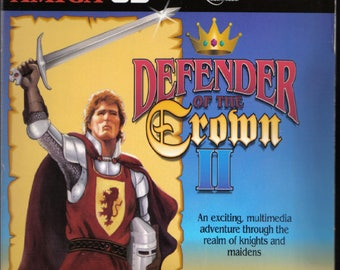 Defender of the Crown II 2 Reproduction Amiga CD32 Game.