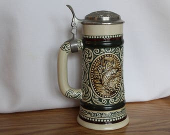 "Beer Stein from Avon - Titled ""Sporting Stein"" from 1978"