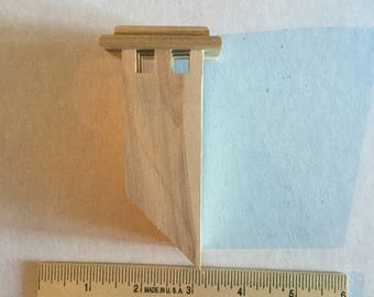 Dollhouse wooden chimney