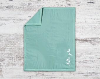DZ Delta Zeta Script Sweatshirt Blanket Throw Greek Licensed Sorority Gift