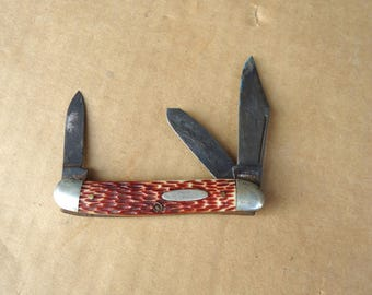 vintage pocket knives,antique old folding pocket knives,junk drawer lot,pullster