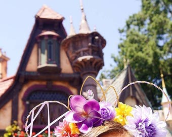 Rapunzel Ears | Rapunzel Inspired | Tangled | Lost Princess | Mouse Ears | Wire Ears