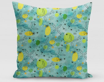 Just Beachy Square Pillow   Home Decor   Studio Carrie   Gift