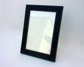 Wooden photo frame, wooden picture frame, simple frame, A5, 4x7, 5x7 - to hang or stand vertically or horizontally