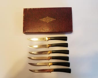 Vintage USA Steak Knife set