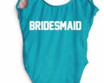 Custom Bridesmaid swimsuit