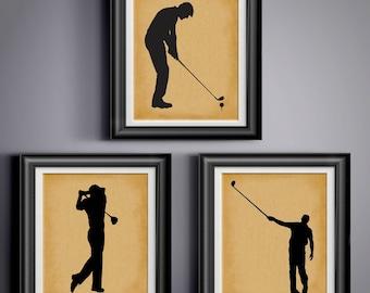 Gentil Golf Gift For Husband Gift For Father Gift 4 Him Golf Art Golf Poster Golf  Artwork