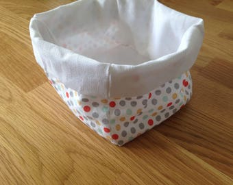 Basket - My little polka dots