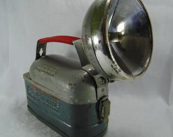 Vintage Delta Power-King 12 Volt Lantern, Flashlight