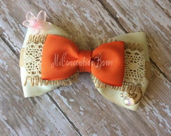 Moana Inspired Bow