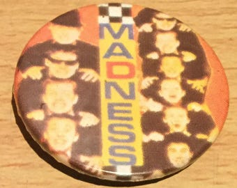 Madness Vintage Badge