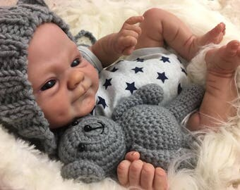 Custom made to order Coco malu from the sculpt by elisa marx. Newborn baby girl/boy