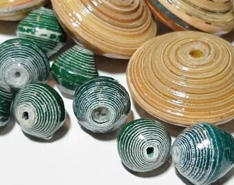 Fair Trade Paper Bead Mix 14