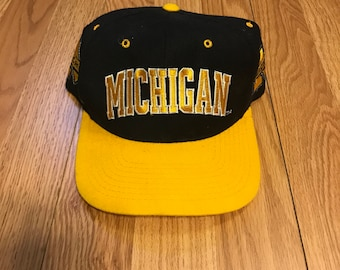 Vintage Michigan Wolverines snapback
