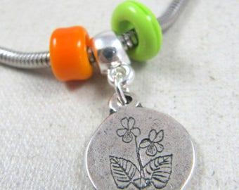 Charm's Violet bracelet - 925 Silver finish