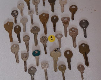 Brass and metal keys