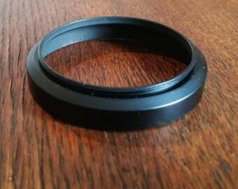 Vintage 58 mm Metal Lens Hood for SLR Camera Lens