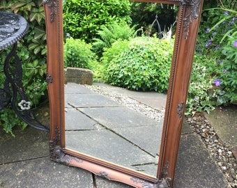 Beautiful bevelled ornate mirror restored in great condition.