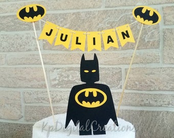 Lego Batman cake topper, lego Superhero birthday party, Superhero cake topper, lego batman birthday, batman party, batman birthday, Lego