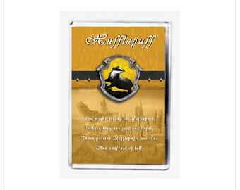 Hufflepuff Fridge Magnet from Harry Potter - FREE UK PP