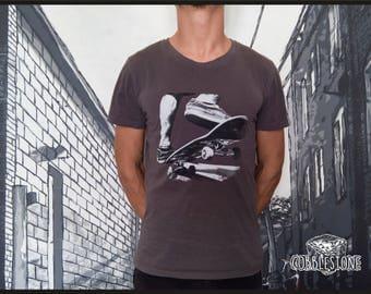 "T-shirt ""nosegrind"" fair trade & organic"