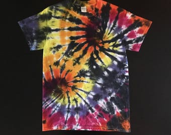 Tie-Dye Double Spiral Shirt - Small