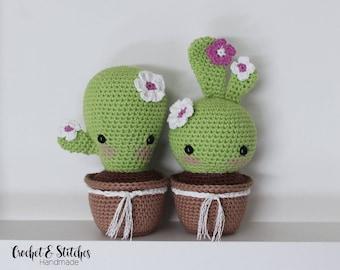 Crochet Cactus ~ Amigurumi ~ Cactus Set