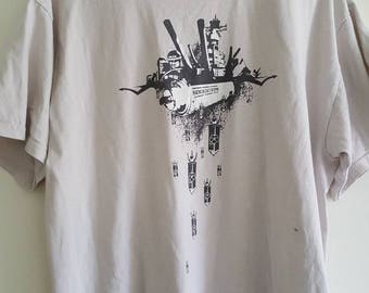 Revolution T-shirt // vintage Exact Science tee // Size xl // FREE SHIPPING in USA