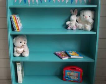 Painted Retro Child's Bookcase