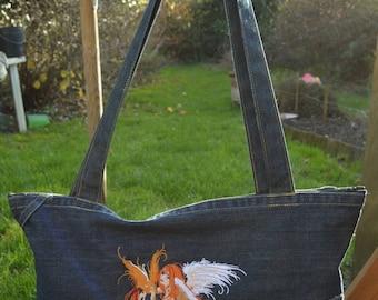 fairy jeans shoulder bag