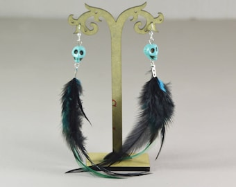 ALGOMA feather earrings